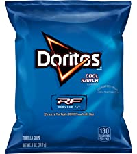 doritos reduced fat cool ranch tortilla chips