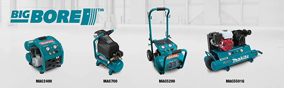 big bore mac2400 mac700 mac5200 mac5501g air compressors