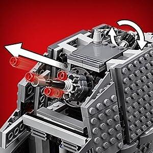 LEGO Star Wars - First Order Heavy Assault Walker, Juguete de Construcción Basado en La Guerra de las Galaxias (75189): Amazon.es: Juguetes y juegos
