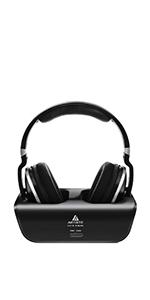 Amazon com: Wireless TV Headphones, Artiste ADH300 2 4GHz Digital
