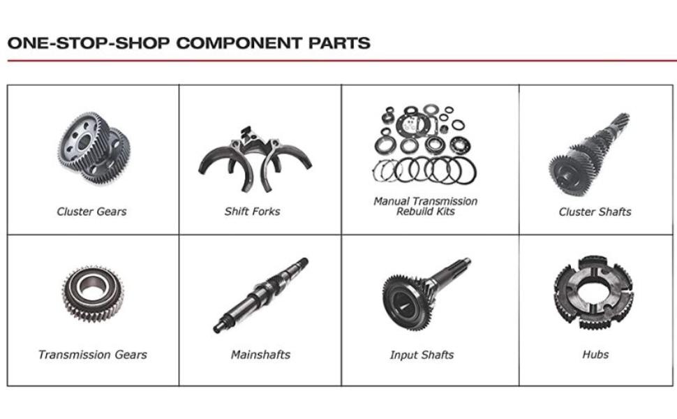 One stop shop component parts