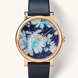 Timex Crystal Bloom Crystal Fabric Dial