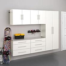 "HangUps 90"" Storage Cabinet Set H - 5 pieces"