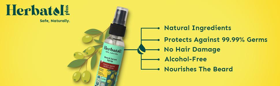 Beard Serum Spray, beard growth oil