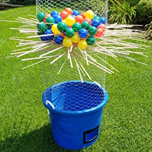 Endless uses diy game games party toy balls sticks do it your self