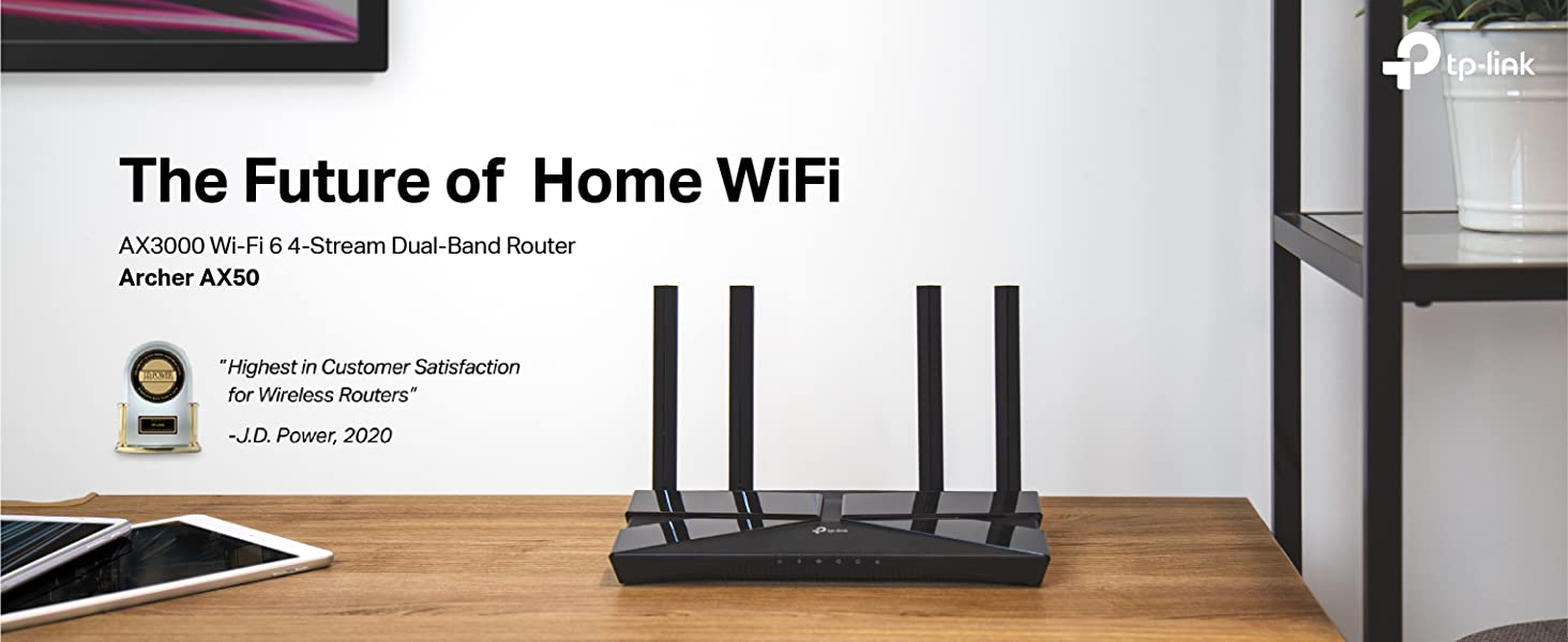 Archer AX50 WiFi 6 Router