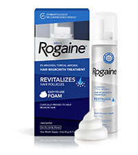 Men' Rogaine Foam