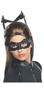 The Dark Knight Rises Girls Catwoman Costume Wig