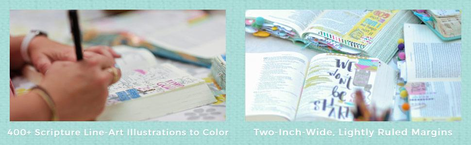 Faith Strength Wisdom Art Bible Artist Journaling Color Illustration Legacy Personal Response God