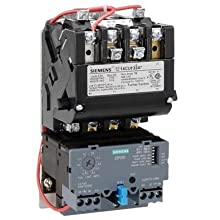 440-480 at 60Hz Coil Voltage 3 Pole 3 Phase 27A Contactor Amp Rating 1 NEMA Size Ambient Compensated Bimetal Overload Siemens 14DP82WH81 Heavy Duty Motor Starter NEMA 4//4X Stainless Watertight Extra Wide Enclosure Manual//Auto Reset