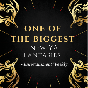 """""""one of the biggest new YA fantasies""""--Entertainment Weekly"""