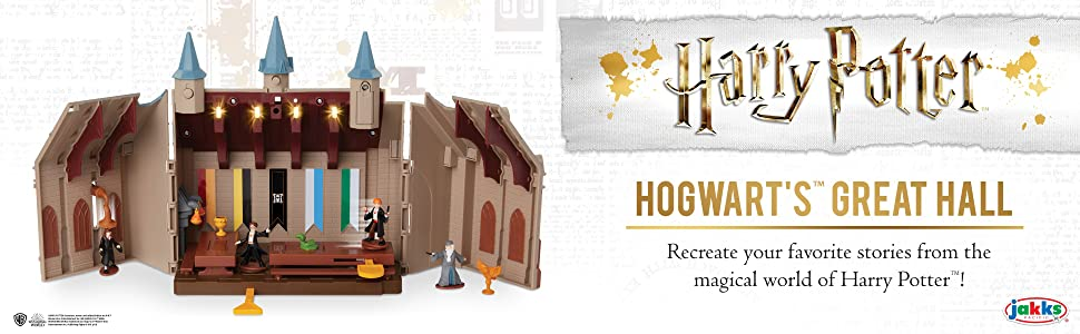 Harry Potter Hogwart/'s Great Hall Deluxe Mini Play Set NEW Great Gift!