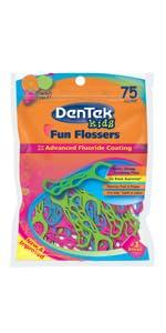 DenTek Sensitive Floss Picks Dental Kids