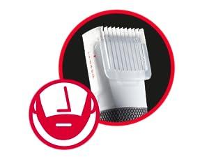 BaByliss E795E - Cortapelos 2 en 1 para cabello y barba, cuchillas ...