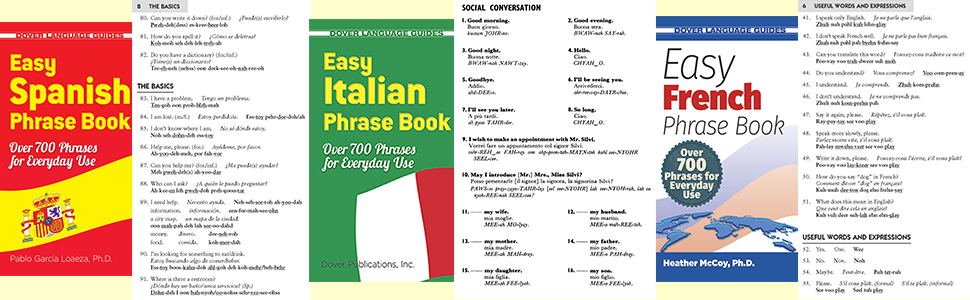 Easy French Phrase Book NEW EDITION: Over 700 Phrases for