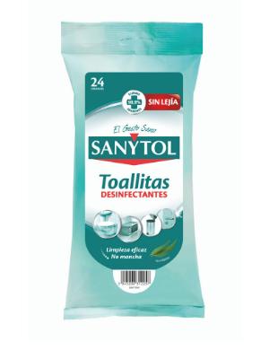 Sanytol - Toallitas Desinfectantes Multiuso, 24 Unidades: Amazon ...