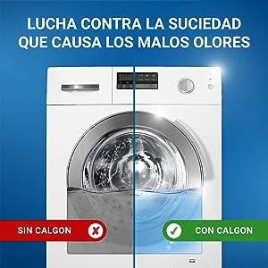 Calgon Antical para lavadora en Gel - 1,5L: Amazon.es: Amazon Pantry