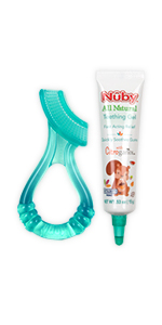 ... Teething Gel with Bonus Silicone Massaging Toothbrush ...