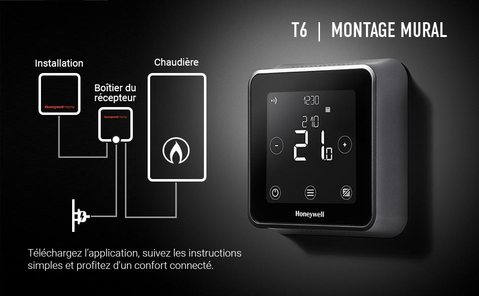 Le top des meilleurs thermostats WiFi en 2021 - Honeywell Home T6