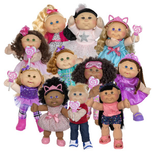 Cabbage Patch Kids CPW Blonde AMZ Giggle Time Deluxe Toddler