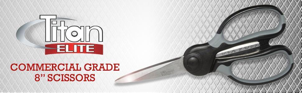 heavy duty scissor, 8 inch scissor, shears, industrial scissor, commercial grade scissor, cutting