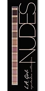 Amazon.com: L.A. Girl Beauty Brick Eyeshadow, Nudes, 0.42 ...