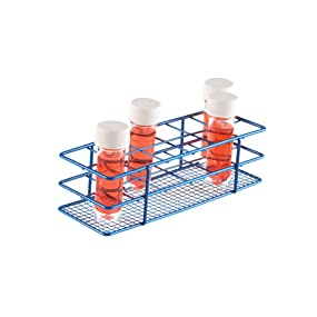 Epoxy Coated Wire Rack Heathrow Scientific Universal Tube holder lab blood collection tubes slotted