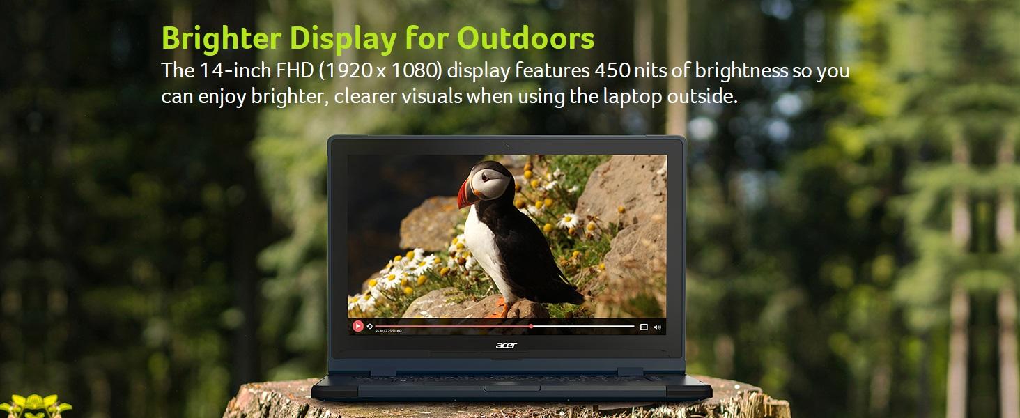 Acer Enduro Urban N3 EUN314-51W-789F Rugged Laptop