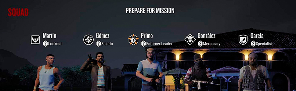 NARCOS: Rise of the Cartels  / Nintendo Switch | PlayStation 4 | Xbox One | Microsoft Windows