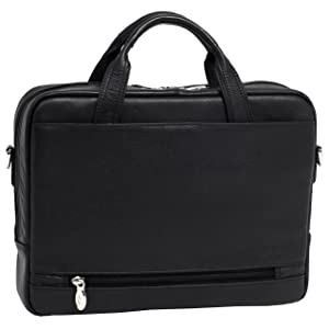 leather briefcase business