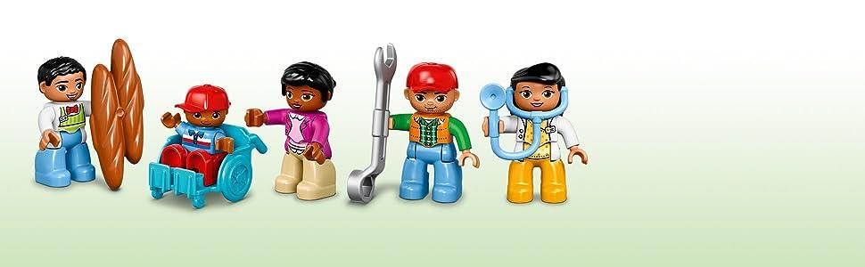 Amazon.com: LEGO – Duplo Plaza de la ciudad 10836: Toys & Games
