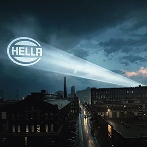 12V LED mit Lampentr/äger HELLA 2SD 012 519-041 Heckleuchte rechts