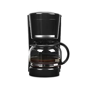 Medion MD 17229 Cafetera eléctrica, 870 W, 1.25 litros, Acero inoxidable, Negro: Amazon.es: Hogar