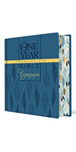 one year, daily devotional, hardcover, chronological, order coloring bible, journaling, wide margins