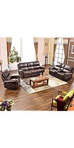 Amazon Com Harper Amp Bright Designs Sectional Sofa Set