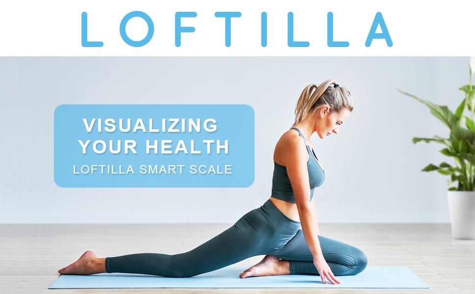 Loftilla Bathroom Scale for Body Weight BMI Scale9