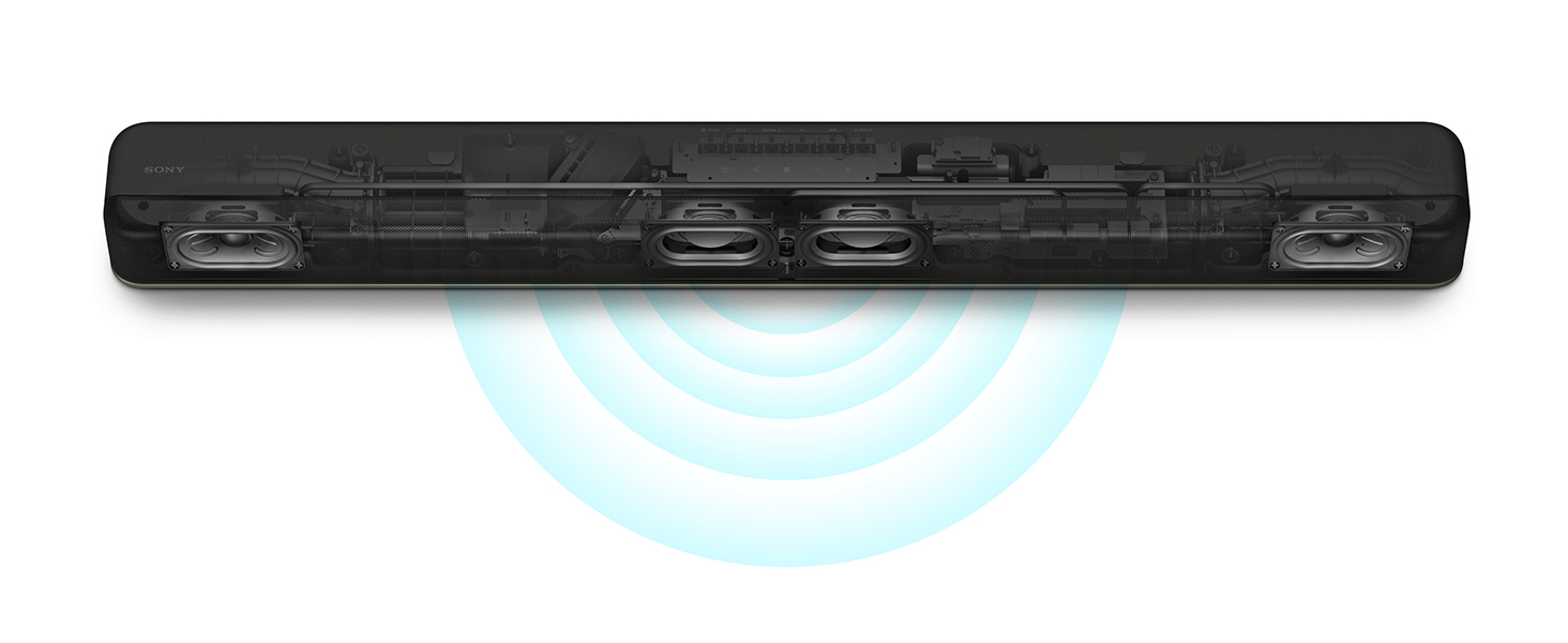 Sony HT-X8500 2.1 Kanal Dolby Atmos Soundbar schwarz: Amazon.de: Elektronik & Foto