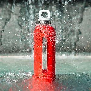 SIGG-avec blanc pur Touch Rouge 0,6 L-nouvelle bouteille de boisson-livraison gratuite au royaume-uni