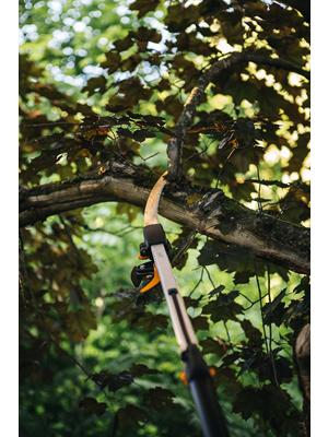 Fiskars Sierra para las Podaderas UPX86, UPX82, Longitud: 46 cm, Negro/Plata, 1023633
