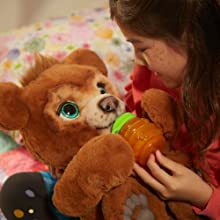 ureal; fureal friends; furreal friends; furreal pets; furreal animals; furreal bear; cubbie; plush