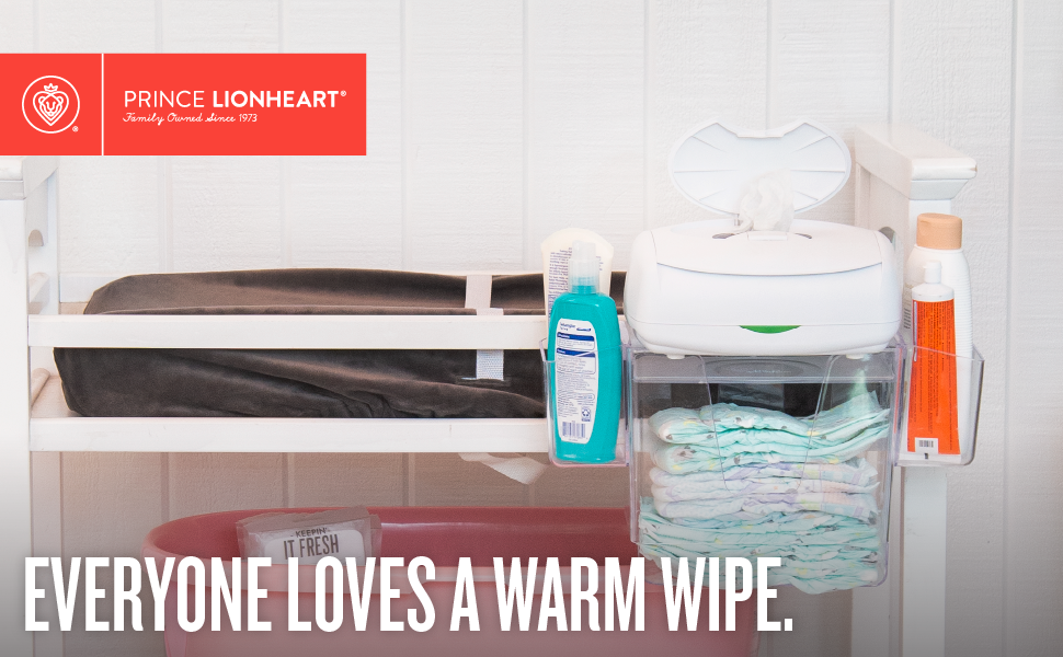Ultimate Wipes Warmer from Prince Lionheart