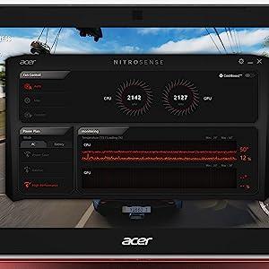 "Acer Nitro 5 AN515-42-R5ED Amazon Choice Ryzen 5 2500U RX 560X Radeon Graphics 15.6"" Full HD Gaming"