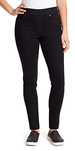 Avery slim Pull on stretch denim jean for women
