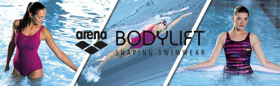 17a190c1fe arena BODYLIFT Women s Bodylift U Back Shirley Tummy Flattening 1 ...