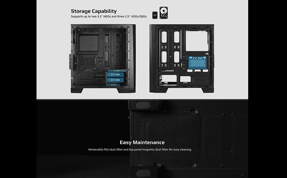 Cylon Mini Storage and Easy Maintenance