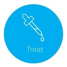 Rutina de cuidado de la piel de aspecto saludable - Treat