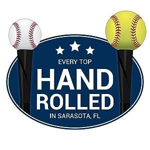 tanner tees, hand-rolled, flextop, baseball, softball