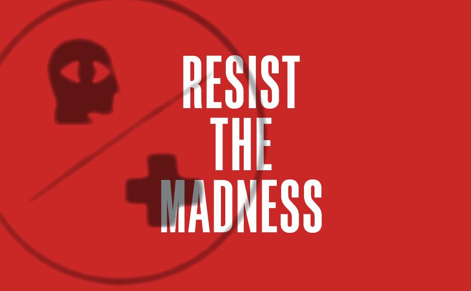 BHL;resist the madness;logo;