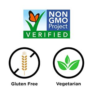 Gluten free, Vegetarian