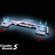 Cooling; cooler; cooler boost; fans; heat; advanced cooling